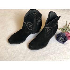 VANELi Womens Epium Black Cowboy, Western Boots